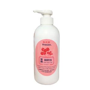 香港代购 日本和光堂婴儿护肤枧蜜 Wakodo honey liquid soap 350ml