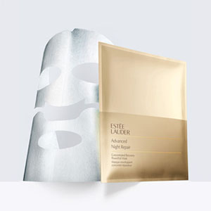 雅诗兰黛面膜(再生基因双层银箔4片) Estee Lauder Advanced Night Concentrated Recovery Powerfoil Mask
