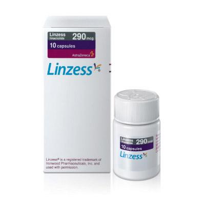 香港代购 利那洛肽 Linzess (治疗便秘/美国FDA认可 / Linaclotide / 290mcg 10粒装胶囊)