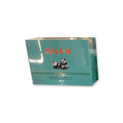 香港代购 上海熊猫香烟罐装(浅蓝色,每盒2罐,每罐50支,共100支)