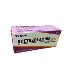 香港代购 抗高原反应海拔适(250mg 50片) SYNCO Acetazolamide Tablet