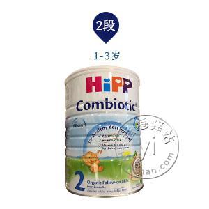 香港代购 港版Hipp combiotic喜宝有机双益菌2段6-12个月奶粉800g