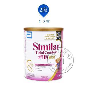 香港代购 雅培similac total comfort亲护2段6-12个月水解蛋白配方奶粉