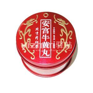 香港代购 北京同仁堂安宫牛黄丸 3g/1粒/盒