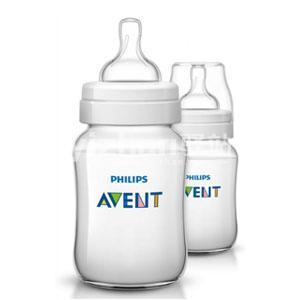 香港代购 Philips AVENT Natural 英国飞利浦新安怡仿母乳宽口径奶瓶9安士260毫升(2个装)